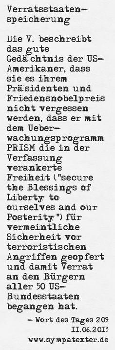 Verratsstaatenspeicherung - www.sympatexter.de