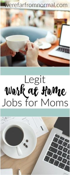 Are you an at home mom who needs some extra income but doesn't want to leave her kids? Here are some awesome work at home jobs for moms. #sahm #sidehustle #homeschool
