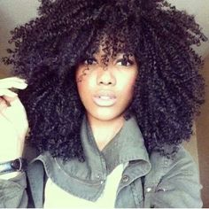 Gorgeous natural curls