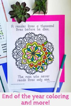 Looking for fun ways to keep kids engaged after testing and during the last few weeks of school? These fun printables are perfect for an ELA class! Middle School Ela, Middle School English, End Of School Year, High School, 8th Grade Ela, Common Core Reading, English Language Arts, Writing Lessons, Special Education Teacher