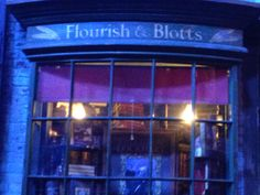 flourish and blotts Harry Potter Studios, Flourish, Tours, Neon Signs, Party, Parties