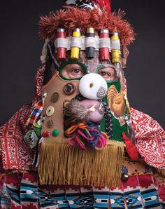 The Story Behind Cajun Mardi Gras Masks - Acadiana Profile - December - January 2014 - Lafayette, LA