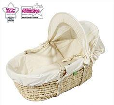 Little Green Sheep Maize Moses Basket Moses Basket, Nursery Furniture, Cot, Best Brand, Bassinet, Cribs, Sheep, Home Decor, Organic