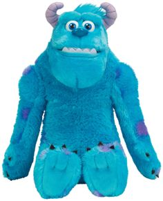 Monsters Inc. University My Scare Pal Sulley plush toy. Isn't he fabulous? #monstersinc #sulley