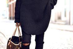 Embrace the Season with Big and Bulky Warm Sweater Designs trendhunter.com