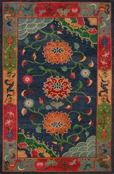 images of tibetan wool | Gangchen Tibetan Handmade Wool Rug | woolen wonders