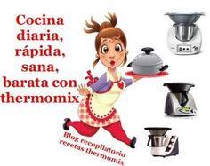 Recopilatorio de recetas thermomix: Cocina de diario, recetas sanas, rápidas y barata con thermomix (Recopilatorio)