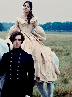 ITV series Victoria is commissioned for a second season. Victoria(Jenna Coleman) and Albert(Tom Hughes), Vogue US, Jan. Victoria Bbc, Victoria Tv Show, Victoria Series, Reine Victoria, Victoria Prince, Victoria And Albert, Queen Victoria, Victoria Masterpiece, Moda Medieval