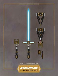 Star Wars: High Republic: Stellan Gios Lightsaber Is Exquisite