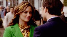 Olhos no ecrã - Xoxo, Gossip Girl Chuck and Blair gif