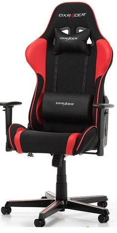 Геймърски стол DXRacer FORMULA Black-Red F11-NR - цена и характеристики | Plasico IT Superstore