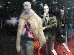 Winter Sale Window Display STEFFL Department Store
