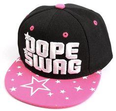 Gorra Plana rosa mujer - Snapback cap pink Women DOPE SWANG ecb158467a2
