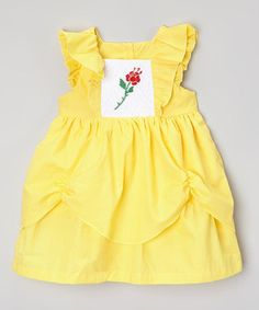 Belle inspired dress by SmockCandy on Etsy