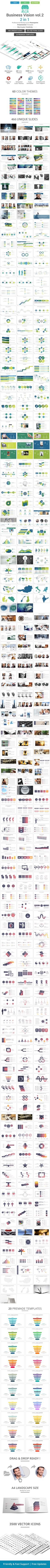 Business vision vol .2 2 in 1 PowerPoint Template Bundle  #ppt #portfolio • Download ➝ https://graphicriver.net/item/business-vision-vol-2-2-in-1-powerpoint-template-bundle/18283454?ref=pxcr