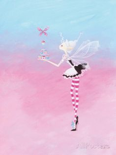 Fairy Cake Prints by Lorrie McFaul at AllPosters.com