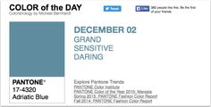 APPart – Mobile Art – Pantone Color of the Day – 'Adriatic Blue'
