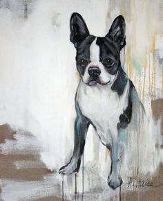 Heather Lahaise - dog paintings