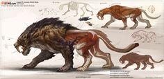 ArtStation - Cat Creature , Dongjun Lu
