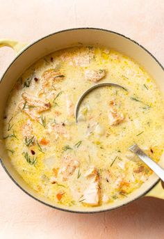 Best Seafood Chowder Recipe, Chowder Recipes, Soup Recipes, Cooking Recipes, Healthy Recipes, Salmon Chowder Recipe Easy, Healthy Soups, Vegetarian Recipes, Salads