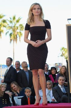 Reese Witherspoon Honored On The Hollywood Walk Of Fame