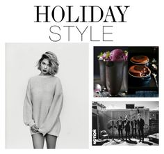 """""""Holiday Style: Oversized Dress"""" by slim-thick ❤ liked on Polyvore featuring Donna Hay, Ødd., holidaystyle and oversizeddress"""