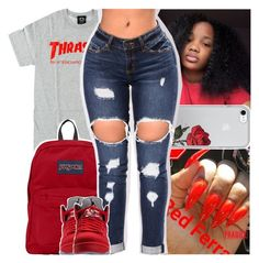 Untitled #330 by daeethakidd on Polyvore featuring polyvore, fashion, style, JanSport and clothing