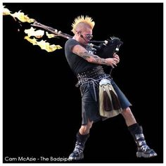 These gorgeous flaming bagpipes were created for Cam McAzie – The Badpiper. Scottish Music, Scottish Castles, Scottish Bands, Scottish Culture, Scottish Kilts, Tartan, Plaid, England And Scotland, Glasgow Scotland