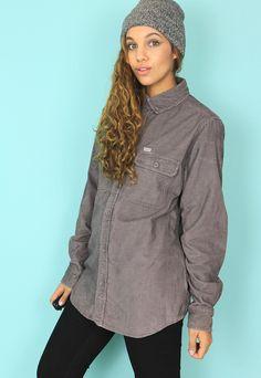 Carhartt Grey Cord Boyfriend Style Shirt - CS17112   Bags 2 Bitches   ASOS Marketplace