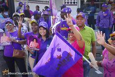 ¡Las mujeres de #BocaChicaConElPLD dicen sí al progreso, sí al desarrollo, sí a Danilo por 4➕! ⭐️ #AhoraPorMás #SiempreConLaGente