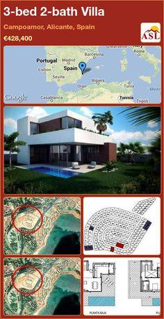 3-bed 2-bath Villa in Campoamor, Alicante, Spain ►€428,400 #PropertyForSaleInSpain
