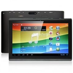 Nextway F7 Tablet PC use 7 inch screen, 1GB RAM + 16GB ROM with RK3066 Dual Core 1.6GHz professor, has 0.3MP front and 2MP back dual camera, installed Android 4.1 OS.