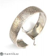 inedita bratara din argint texturat - Finlanda