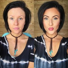 The power of makeup y'all! @younique_corporate