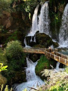 Natural Falls - Waterfall, Sivas - Turkey