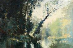 Edward Seago - Suffolk Stream
