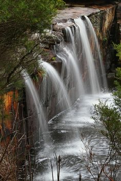 Wattamolla Waterfall in Royal National Park, Australia