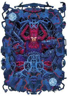 Galactus by Giorgio Comolo (Marvel comics)