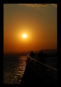 Photo of Alexandroupoli from Alexandroupoli in Evros in Greece. Greek Beauty, Acropolis, Ancient Greece, Greece Travel, Sunsets, Mythology, Travelling, Landscapes, History