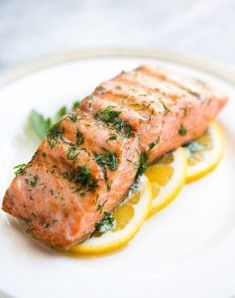 Salmon with Dill Butter ~ Simple and easy, grilled salmon with dill butter and lemon. Low carb and paleo too! ~ Grilled Salmon with Dill Butter ~ Simple and easy, grilled salmon with dill butter and lemon. Low carb and paleo too! Sous Vide Salmon Recipes, Grilled Salmon Recipes, Tilapia Recipes, Grilled Fish, Sous Vide Shrimp Recipe, Dill Recipes, Seafood Recipes, Dinner Recipes, Orange Recipes