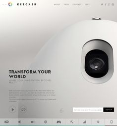 Keecker, April 8, 2014. http://www.awwwards.com/web-design-awards/keecker #UI #Inspiration #Responsive #Design #Web #Interactive #Awwwards