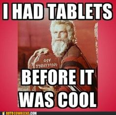 Who knew Moses was a Hipster?