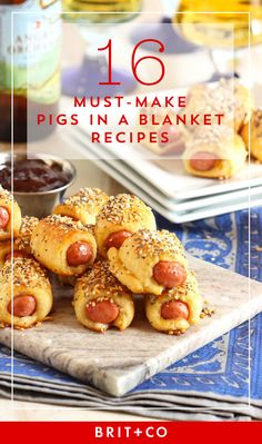 Make endless Pigs in a Blanket with these tasty, easy, and bite-sized recipes.