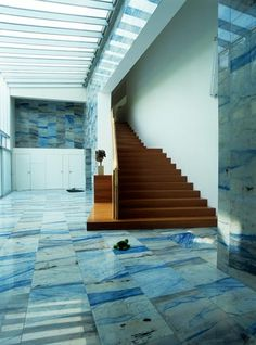 Ettore Sottsass--looks like that really expensive rare blue marble......winning the lotta sure would open up my decorating budget....