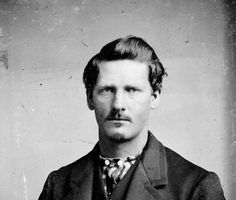 Wild West legend Wyatt Earp in his youth.