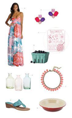 bright + fun wedding picks inspired by the Taffy print
