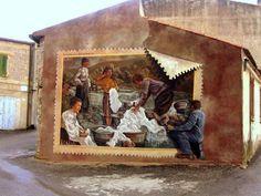 Murale di Semestene - Autore: Pina Monne#Grazie a Orgo Solo:)