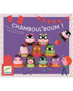 Wurfspiel CHAMBOUL BOUM 11-teilig in bunt