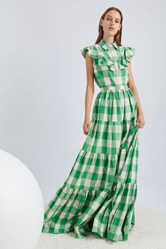 Novis Spring 2019 Ready-to-Wear Fashion Show Collection: See the complete Novis Spring 2019 Ready-to-Wear collection. Look 8 Casual Dresses, Fashion Dresses, Summer Dresses, Look Fashion, Fashion Show, Fashion Design, Short Sleeve Dresses, Dresses With Sleeves, Maxi Robes