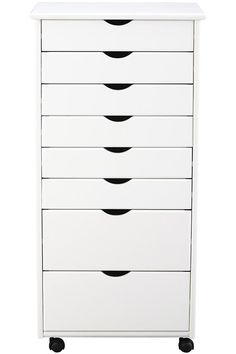 Winsome Wood 10792 Halifax Cabinet For Closet / Office, 7 Drawers, White |  Closet Office, Winsome Wood And Drawers